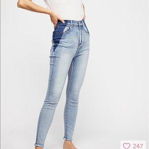 One Teaspoon Super High Rise Freebird 2 Jeans